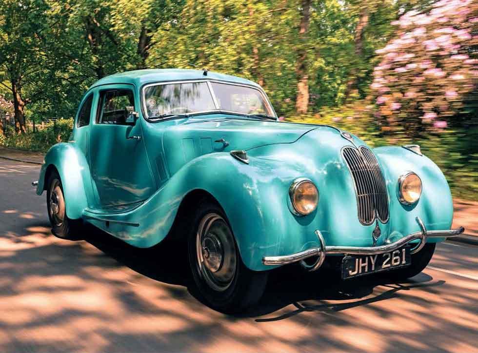 Michael Barton's 1946 Bristol Type 400 JHY 261