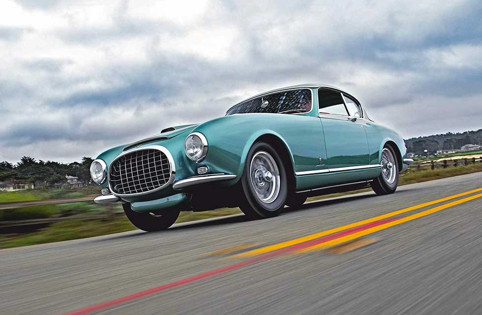 1953 Ferrari 340/342 America Pinin Farina - road test