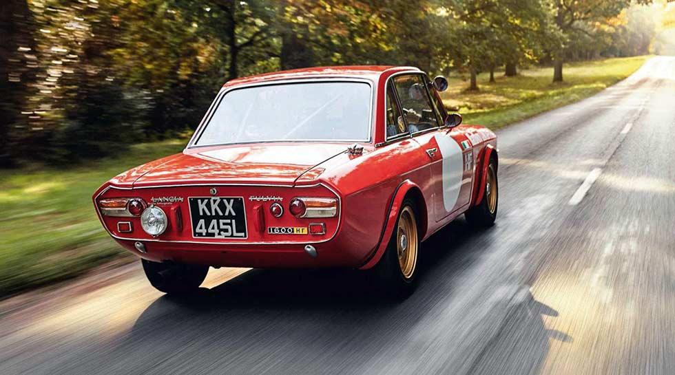 1972 Lancia Fulvia 1600 HF 'works spec'