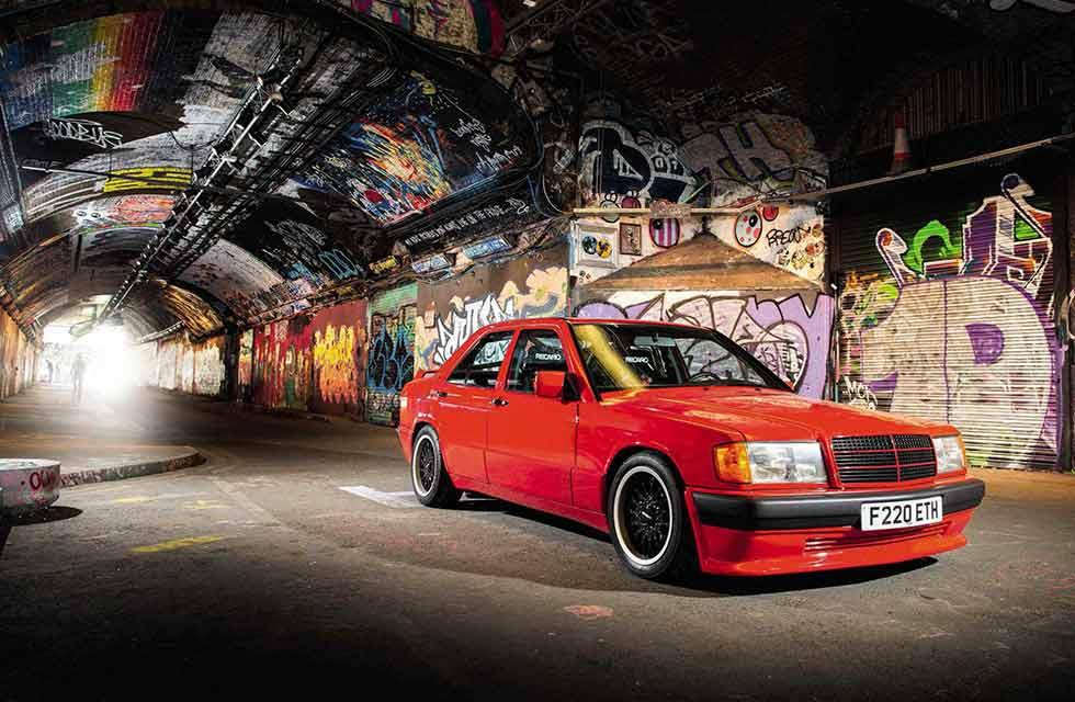 1989 Brabus Mercedes-Benz 190E 3.6S W201 an incredible tribute to Bodo Buschmann