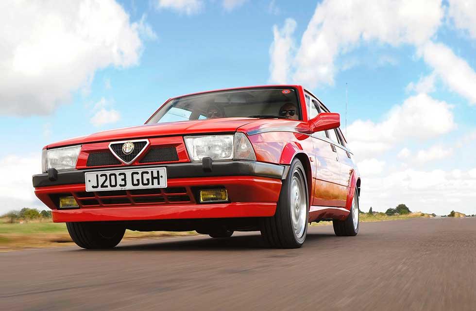 1991 Alfa Romeo 75 TS LE Tipo 162B - road test