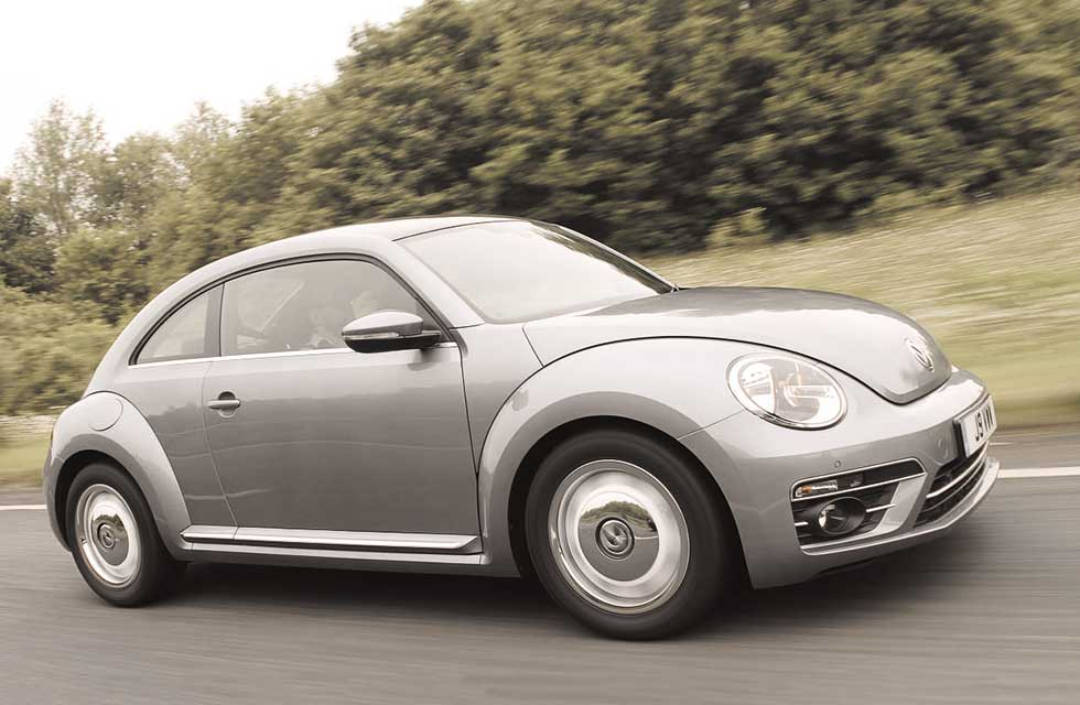 2019 Volkswagen Beetle Design 1.2 TSI 105bhp 6-speed manual A5 PQ35 - road test