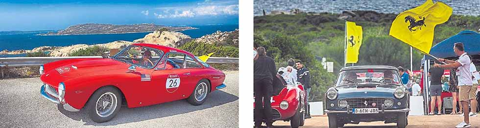 More than 70 classic Ferraris from all over the world gathered in Sardinia for the second edition of the Cavalcade Classiche on September 18-22.