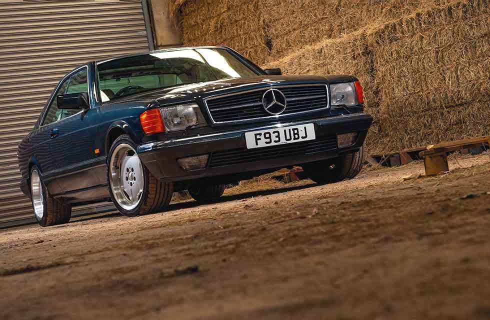 James Hunt's 1989 Mercedes-Benz 560 SEC C126