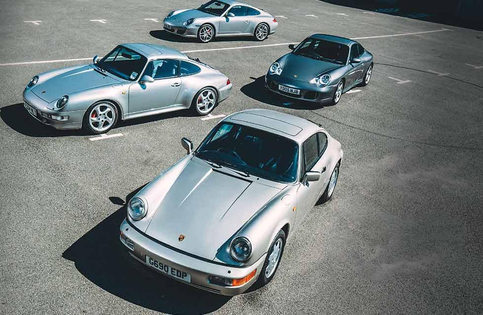 Porsche 911 Carrera 4 Evolution 964, 993, 996 and 997 Carrera 4