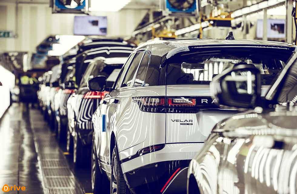 Short time working for Jaguar Land Rover staff