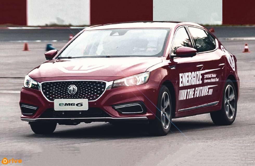 2019 MG6 in China