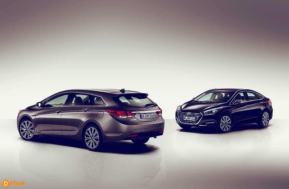 Hyundai i40 saloon and Tourer