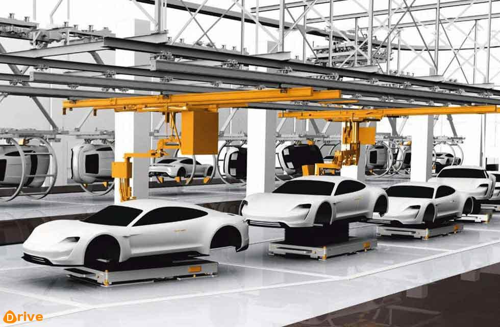Porsche's electric factory within a factory will look like this in a matter of months