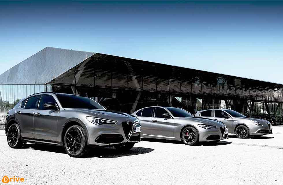Nero Edizione models, Italian for Black Edition, have been announced by Alfa Romeo, on the Giulietta, Giulia and Stelvio ranges