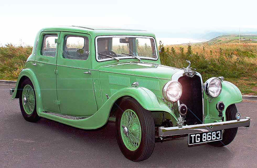 Simon Goldsworthy 1934 Triumph Gloria
