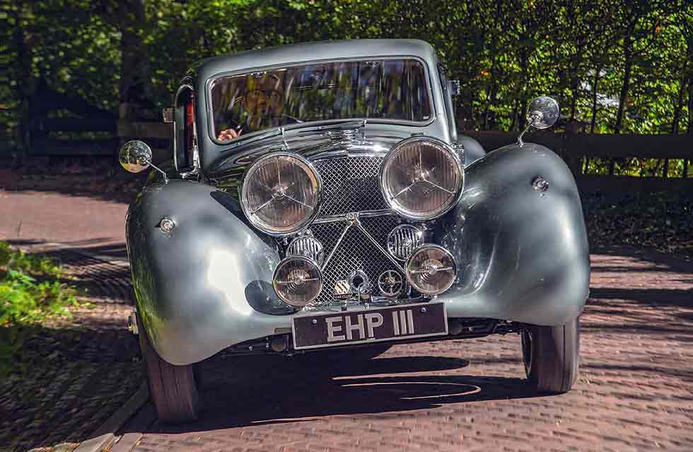 1938 Jaguar SS100 Coupé styled by Lyons and Cyril Holland