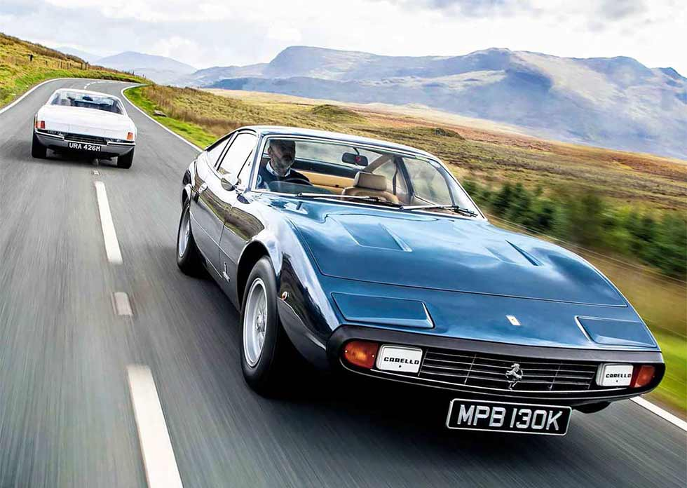 1971 Ferrari 365 GTB/4 Daytona vs. 1972 Ferrari 365 GTC/4 - comparison road test