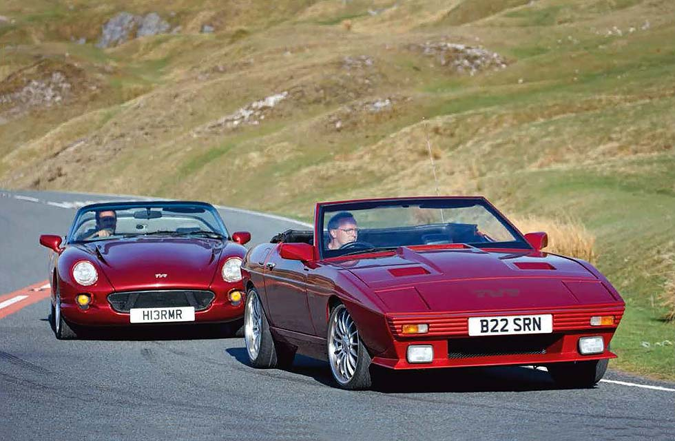 Across Ireland in TVR 350i and Chimaera