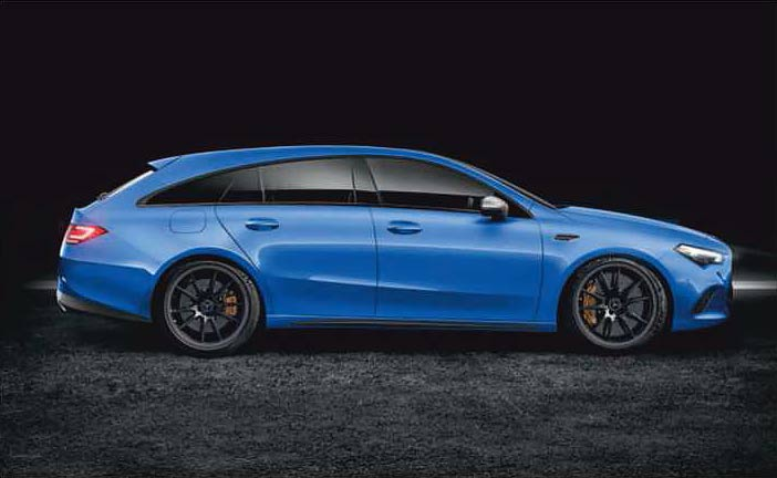 New CLA Shooting Brake