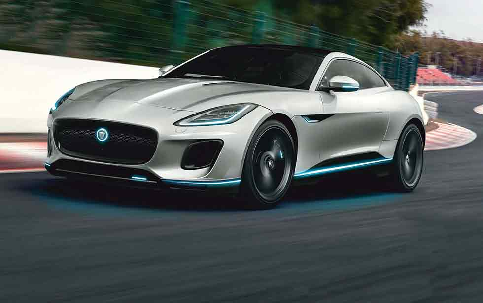 Next-generation 2020 Jaguar F-Type sports car