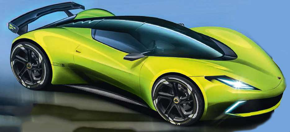 Lotus is set to stun the world with a new £2 million-plus electric hypercar