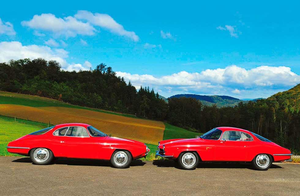 Alfa Romeo Giulietta Sprint Speciale - twin test: early versus late