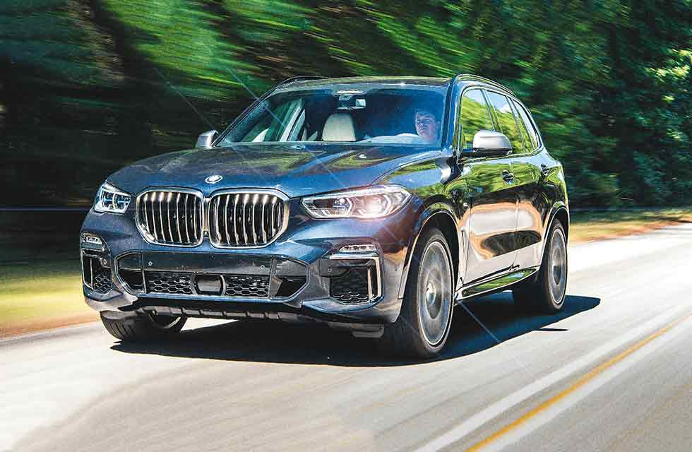 2019 BMW X5 G05 - road test
