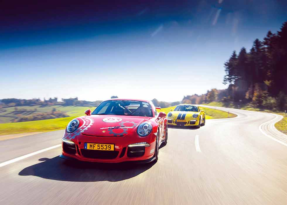 Standard and modified GT3s fight for supremacy on road and track