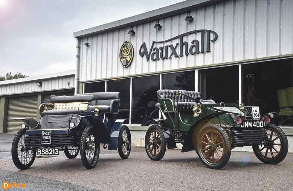 1903 Vauxhall 5HP - Vauxhall's oldest car