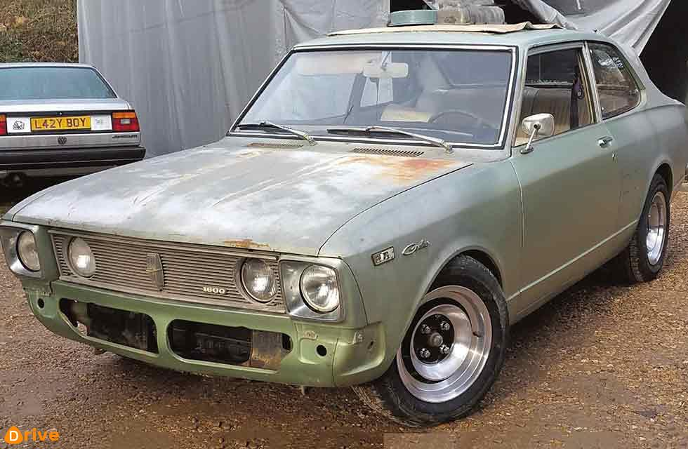 New TV show features 1971 Toyota Carina!