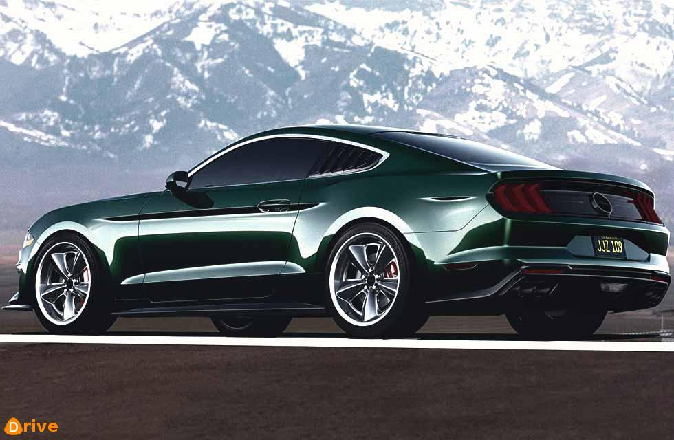 This Ford Mustang Steve McQueen Edition has 800bhp