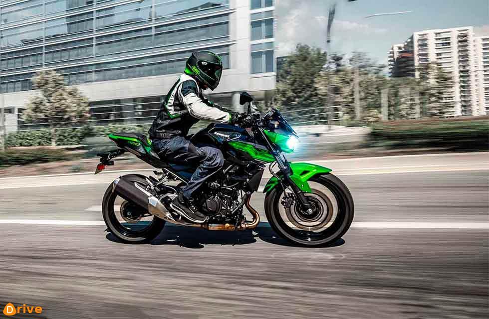 Kawasaki release the Z400