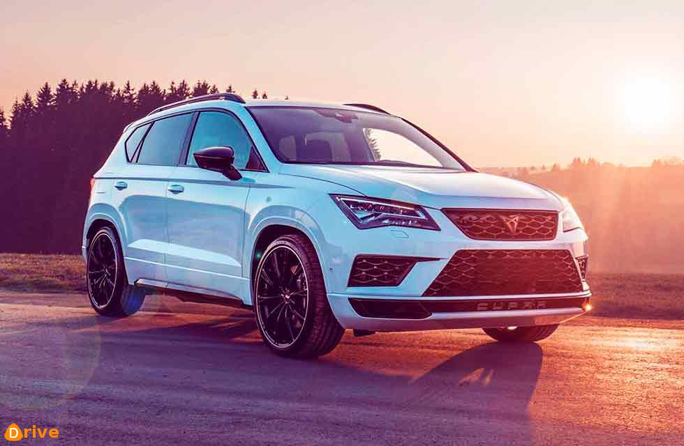 CUPRA Ateca is the first own model of the new SEAT brand