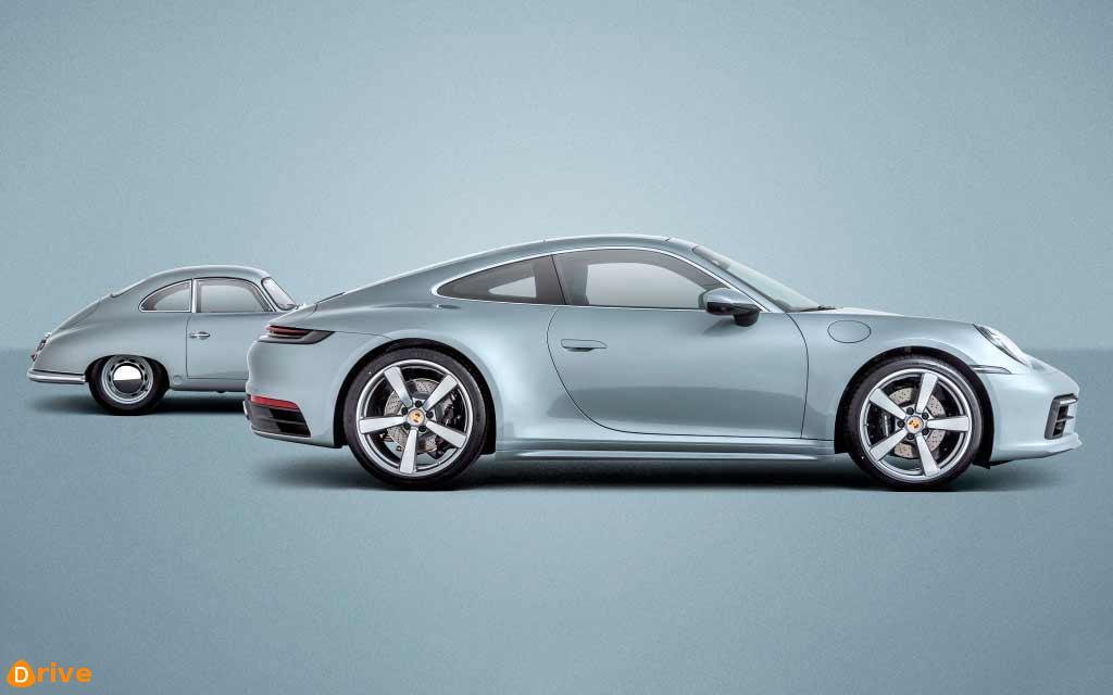 2020 Porsche 911 eighth generation sports car - factory code 992
