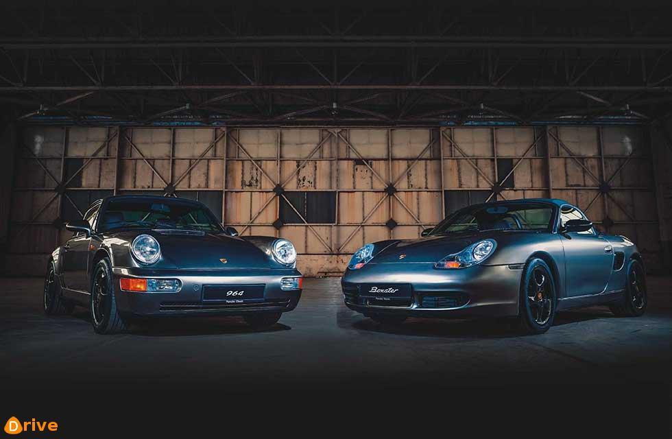Old's Cool In celebration of 70 years of Porsche sports cars, Porsche Classic has restored 20 vehicles in matching styles