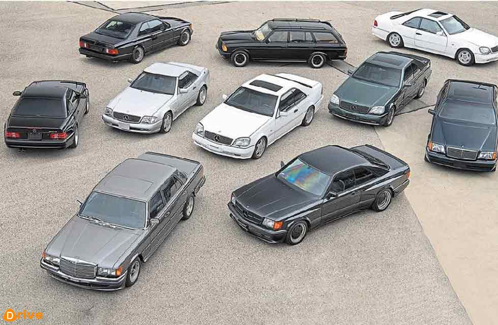 A dream garage chock full of iconic modern classics ranging from the early 1980s to the early 2000s