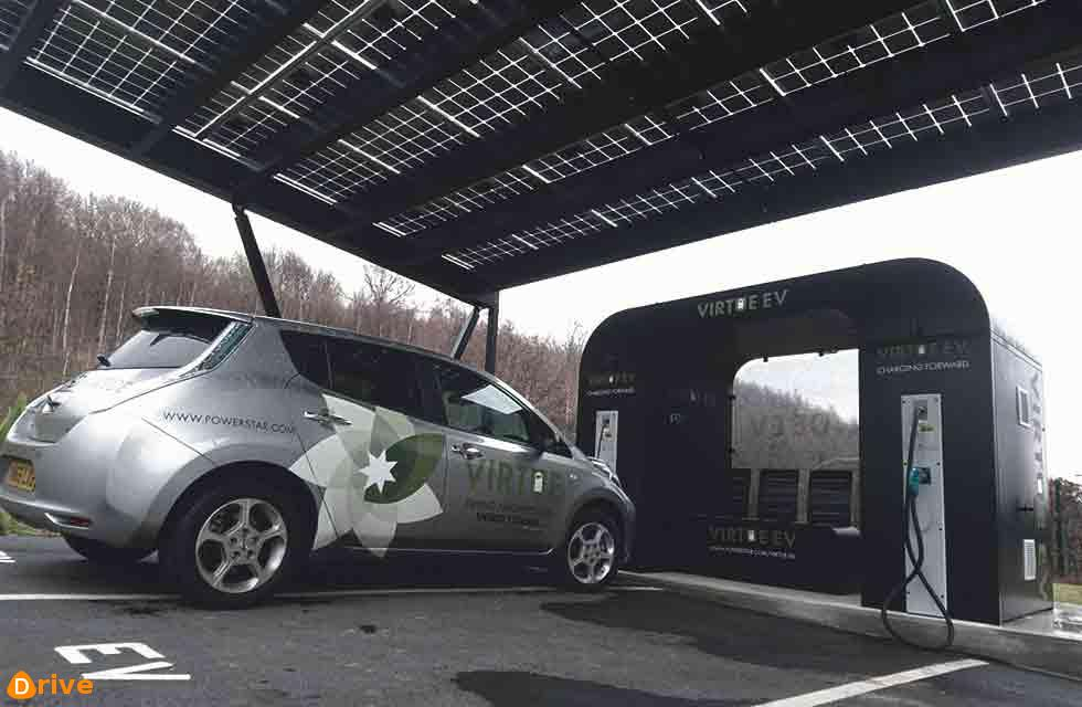 VEHICLE CHARGING HUB PLANNED FOR THE M6