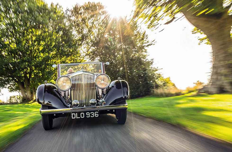 1937 Bentley 3 ½ Litre Vanden Plas Drophead Coupe road test
