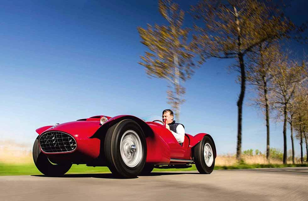 1952 Siata 208 Spider Corsa