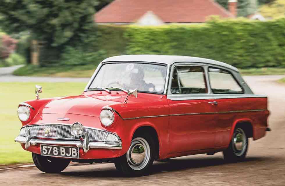 Alex Tapley 1962 Ford Anglia 105E Touring