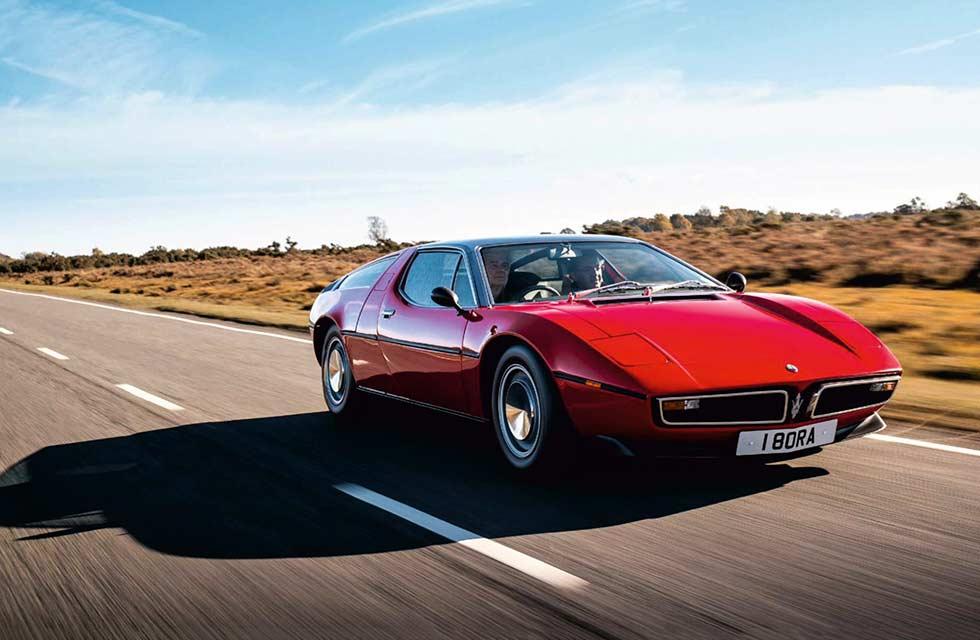 1972 Maserati Bora 4.7-litre V8 road test
