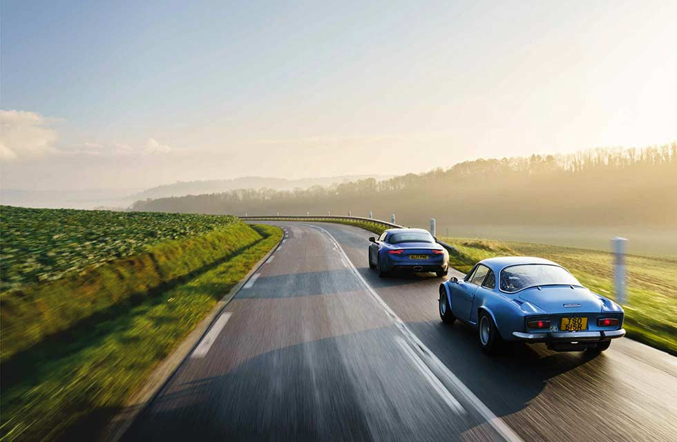 Alpine A110: old and new