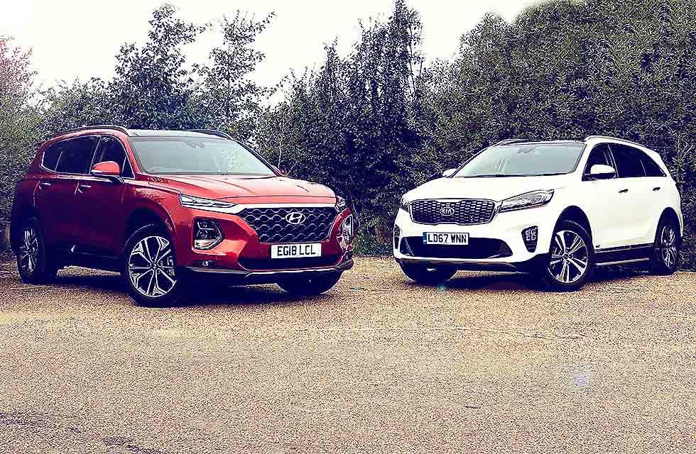 2019 Hyundai Santa Fe Premium SE 2.2 CRDi Automatic vs. 2018 KIA Sorento GT-Line S 2.2 CRDi Automatic