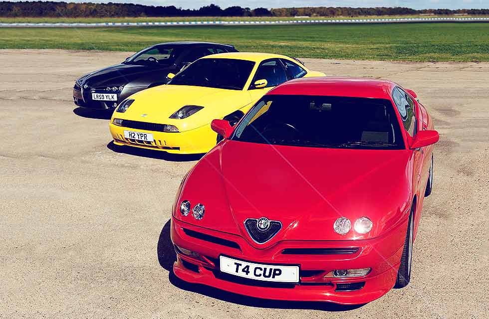 Michael Ward Alfa Brera Prodrive v GTV Cup v Fiat Coupe Plus
