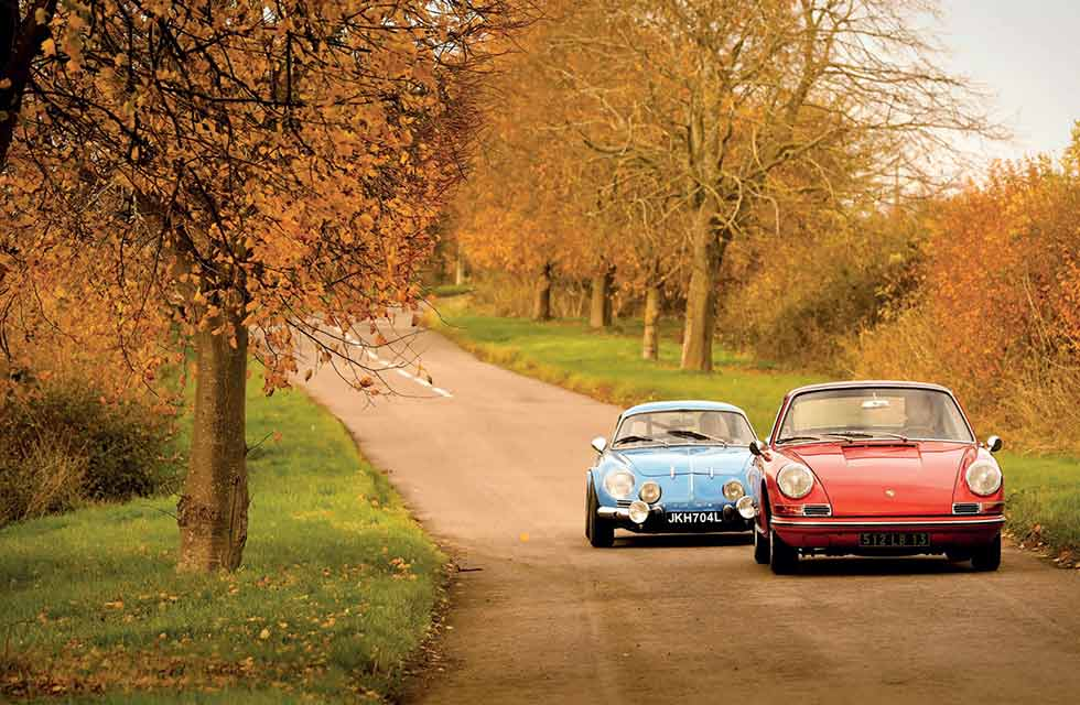 Tony Baker Porsche 911 vs Alpine A110