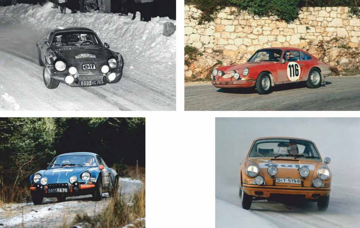 Porsche 911 vs Alpine A110 rally heroes for the road