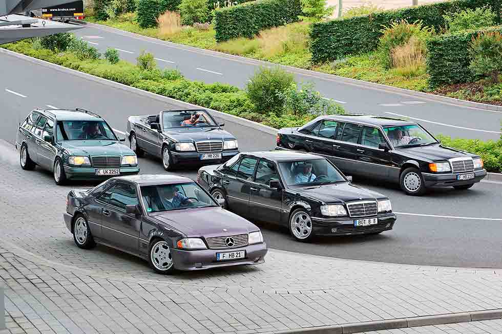Five alive alternative W124s Mercedes