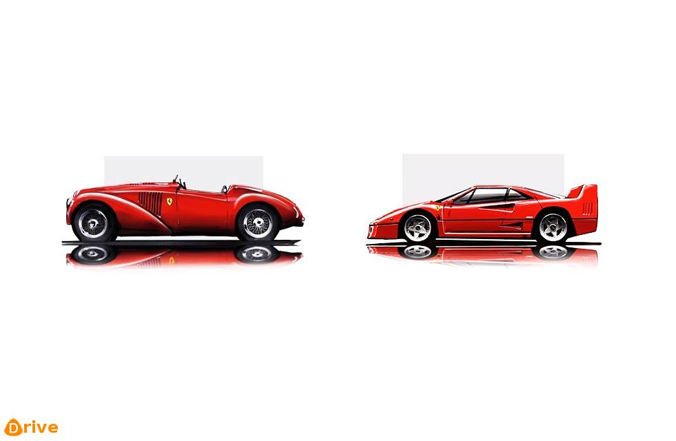 1947/1987 Enzo's first and last: from Ferrari 125 to Ferrari F40