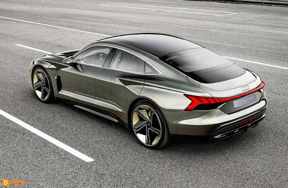 Svelte 2020 Audi E-Tron GT takes on Tesla Model S