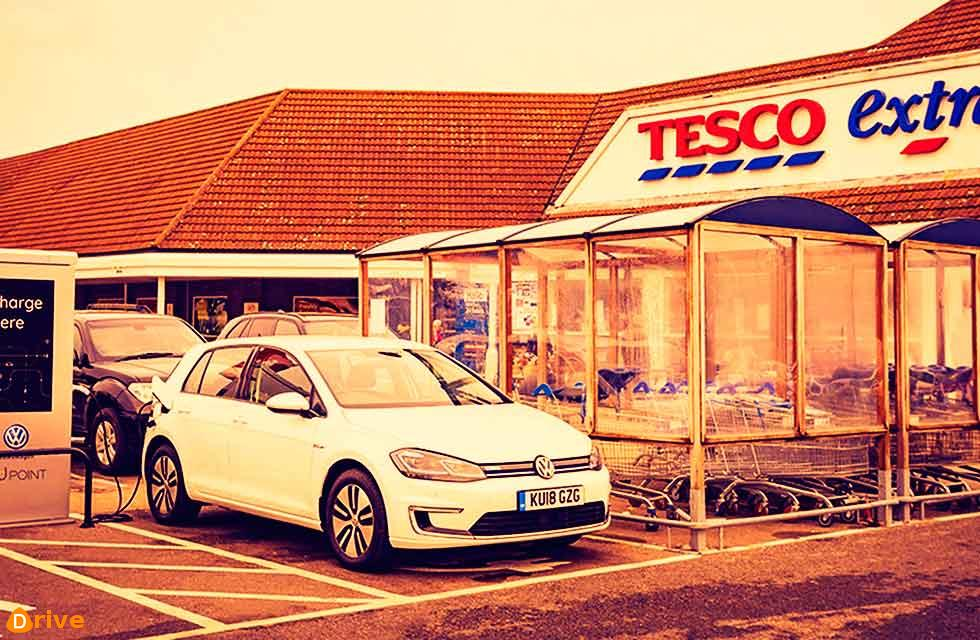 Tesco to offer 2,400 charging points