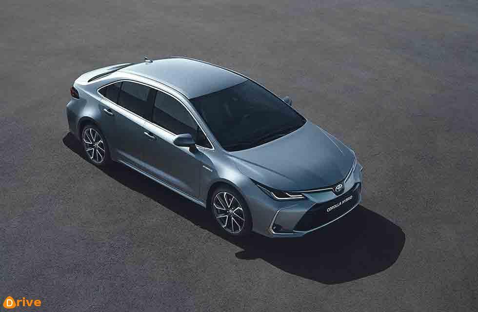 2020 Toyota Corolla saloon looks sharp