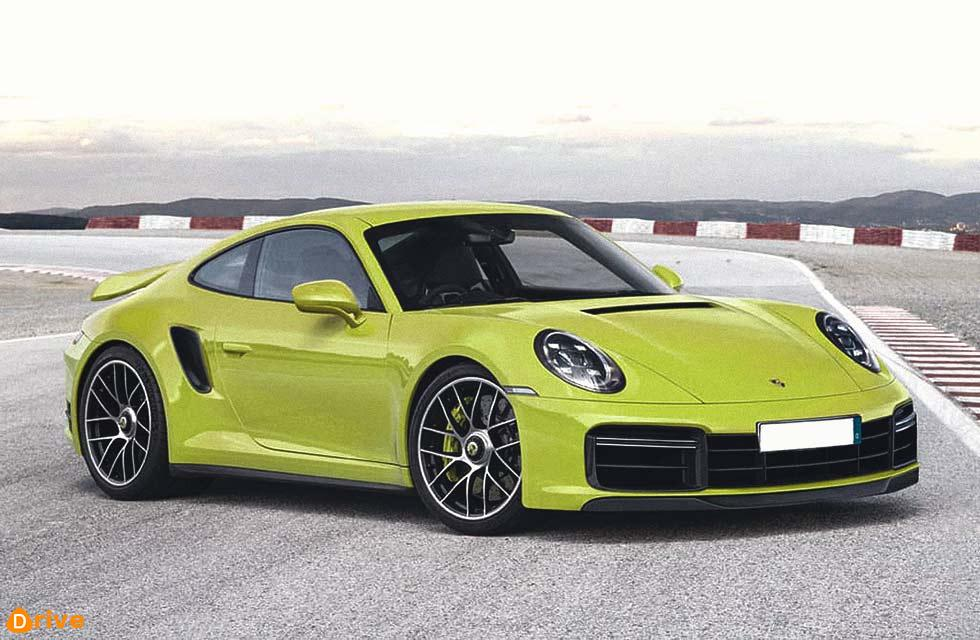 2020 Porsche 911 Turbo 992