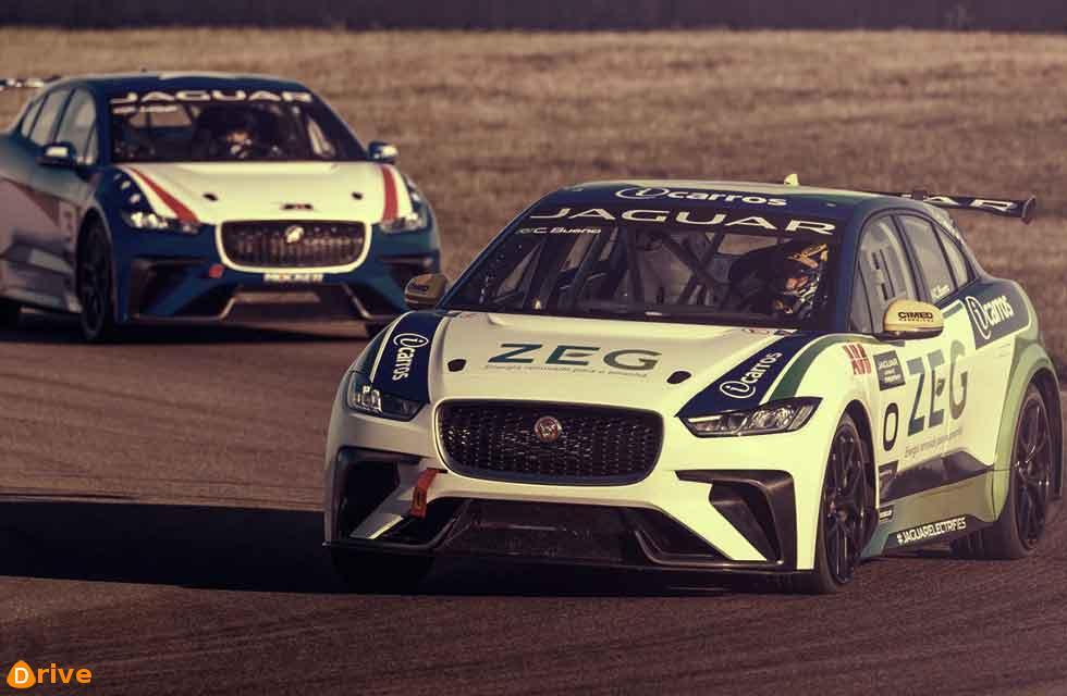 Jaguar I-PACE eTrophy Race 1, Saudi Arabia 15 December 2018