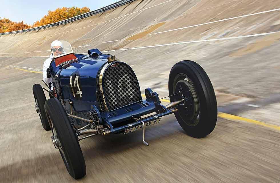 1931 Bugatti Type 51 twin-cam GP Car twin-cam - road and track test